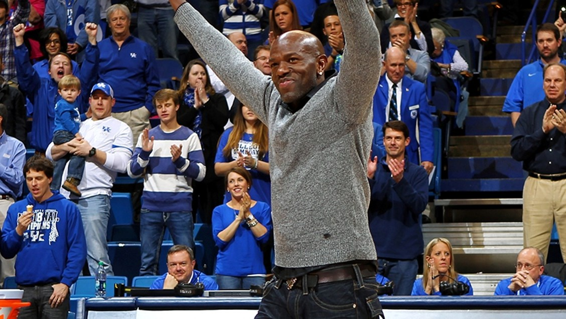 Image result for tony delk jersey retirement