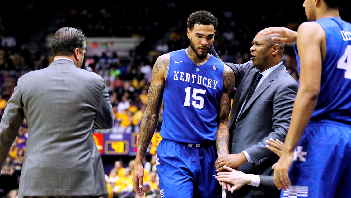 Cauley Stein Among 20 Finalists For Wooden Award Coach Cal